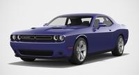 Dodge Challenger SXT 2015 3D Model