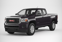 GMC Canyon 2016 Extended Cab 3D Model