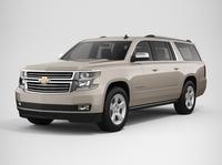 Chevrolet Suburban 2016 3D Model