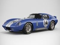 Shelby Daytona Cobra 1964 3D Model