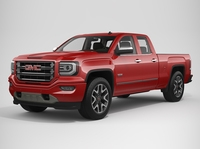 2017 GMC Sierra 1500 Double Cab All Terrain 3D Model