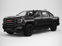 2017 GMC Sierra 1500 Crew Cab All Terrain X 3D Model
