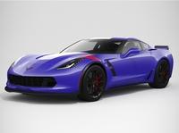 Chevrolet Corvette Grand Sport 2017 3D Model
