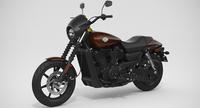 Harley-Davidson Street 500 2017 3D Model