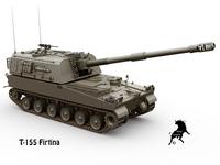 T-155 Firtina 3D Model