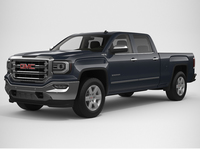 2018 GMC Sierra 1500 Crew Cab 3D Model