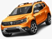 Dacia Duster 2018 3D Model