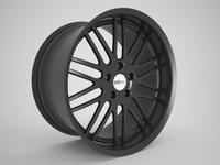 Cray Sport Car Rim 3D Model
