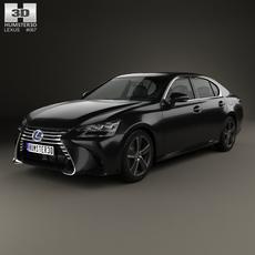 Lexus GS Hybrid 2015 3D Model