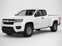 Chevrolet Colorado 2018 Extended Cab 3D Model