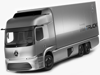 Mercedes Urban eTruck 3D Model