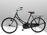 Bicycle Antique Ontel 3D Model