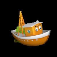 cargoboat 3D Model