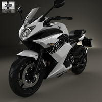 Yamaha XJ6 Diversion F 2014 3D Model