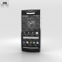 Vertu Signature Touch (2015) Jet Alligator 3D Model