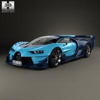Bugatti Vision Gran Turismo 2015 3D Model