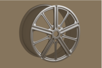 3d sample rim 3D Model