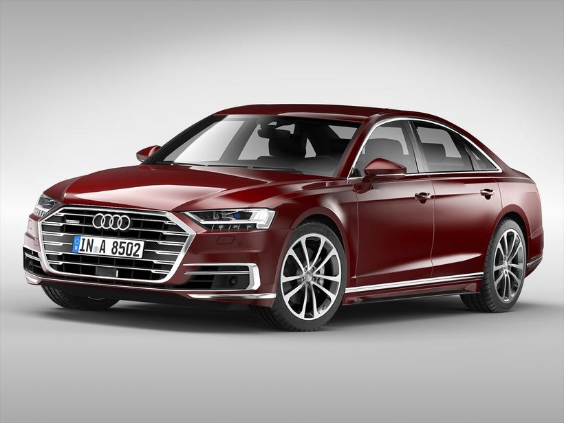 Audi A D Model - Audi car 3d