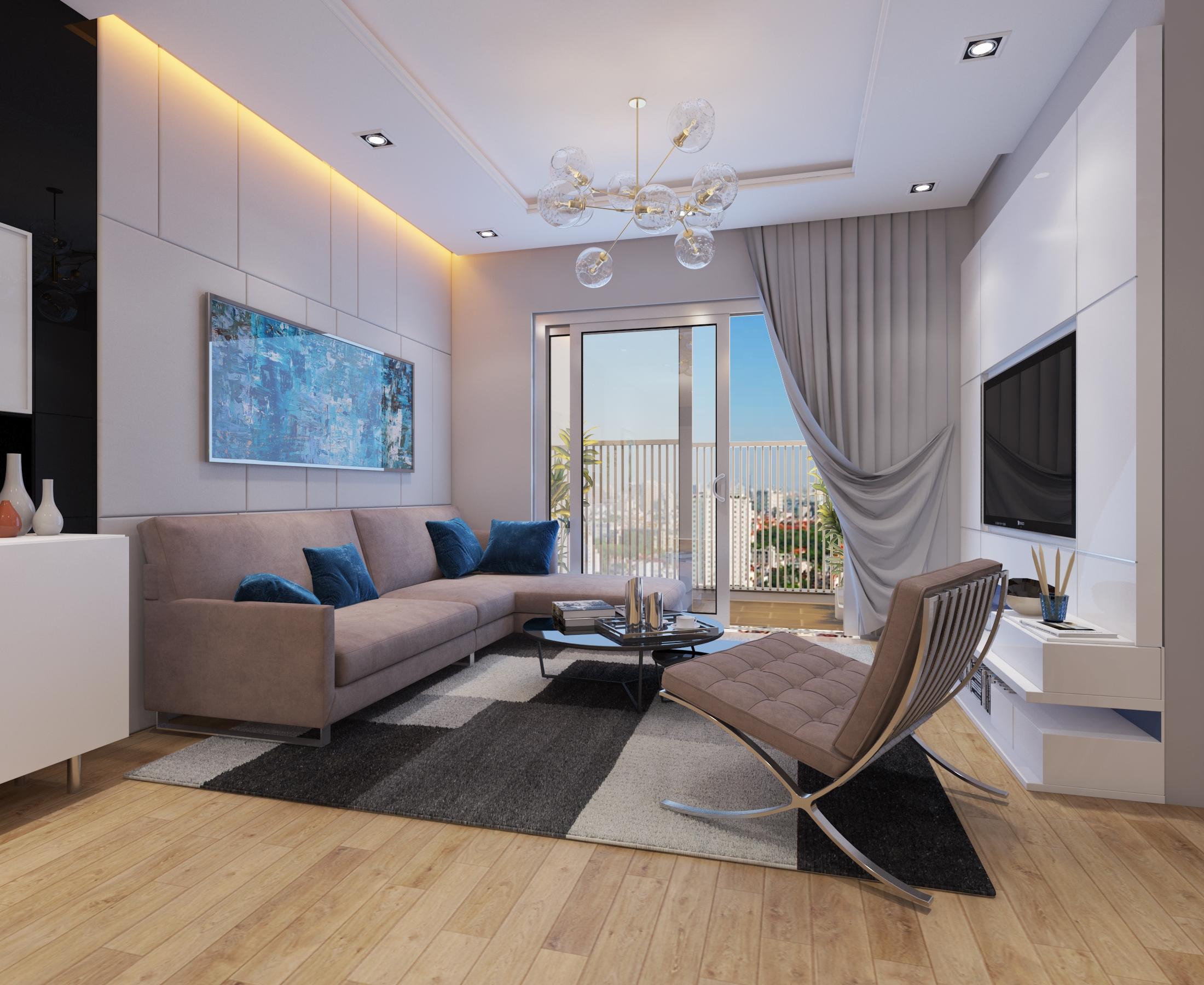 Cutaway Apartment Full Furnitures Modern Design: Cutaway Apartment Full Furnitures In Modern Design 3D Model
