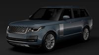 Range Rover Autobiography (L405) 2018 3D Model