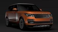 Range Rover Autobiography P400e (L405) 2018 3D Model