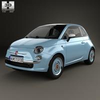 Fiat 500 San Remo 2014 3D Model