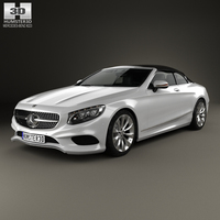 Mercedes-Benz S-class cabriolet 2014 3D Model