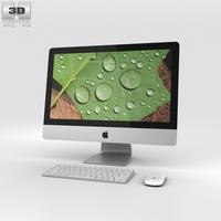 Apple iMac 21.5-inch Retina 4K 3D Model