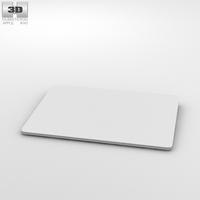 Apple Magic Trackpad 2 3D Model