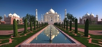 The Taj Mahal 3D Model