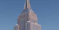 Empire State Building New York 3D Model