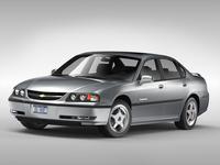 Chevrolet Impala (2000 - 2005) 3D Model