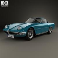 Lamborghini 350 GTV 1963 3D Model