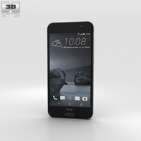 HTC One A9 Carbon Gray 3D Model