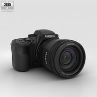 Samsung NX1 3D Model