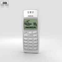 Nokia 1100 Black 3D Model