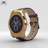 LG Watch Urbane Gold 3D Model