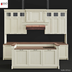 ASSO CAT NewStyle kitchen (corona render) 3D Model
