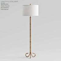 Bassett Mirror Company LINLEY FLOOR LAMP (corona render) 3D Model