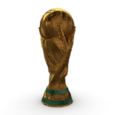 FIFA World Cup Trophy - Low Res 3D Model