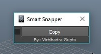 Smart Snapper 1.0.1 for Maya (maya script)