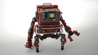Robot GSG1 3D Model