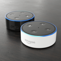 Amazon Echo Dot 2nd Generation 3D Model