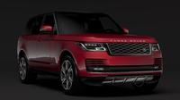 Range Rover Hybrid (L405) 2018 3D Model