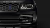 Range Rover Sentinel (L405) 2018 3D Model