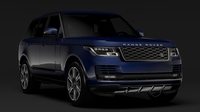 Range Rover Vogue L405 2018 3D Model