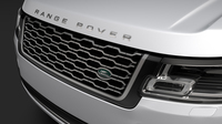 Range Rover Vogue SE L405 2018 3D Model