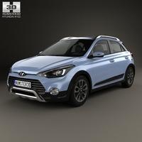 Hyundai i20 Active 2015 3D Model