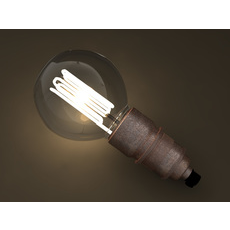 Eco-filament Globe shaped bulb 3D Model