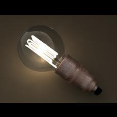 Eco-filament Globe shaped bulb 3D Model
